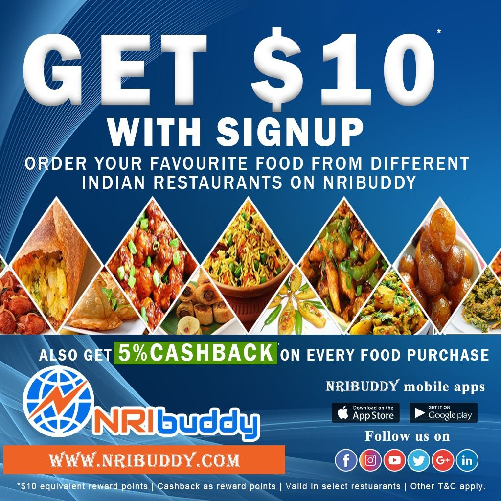 Indian Restaurant Offers Nribuddy Indian Food Recipes Restaurant Offers Food