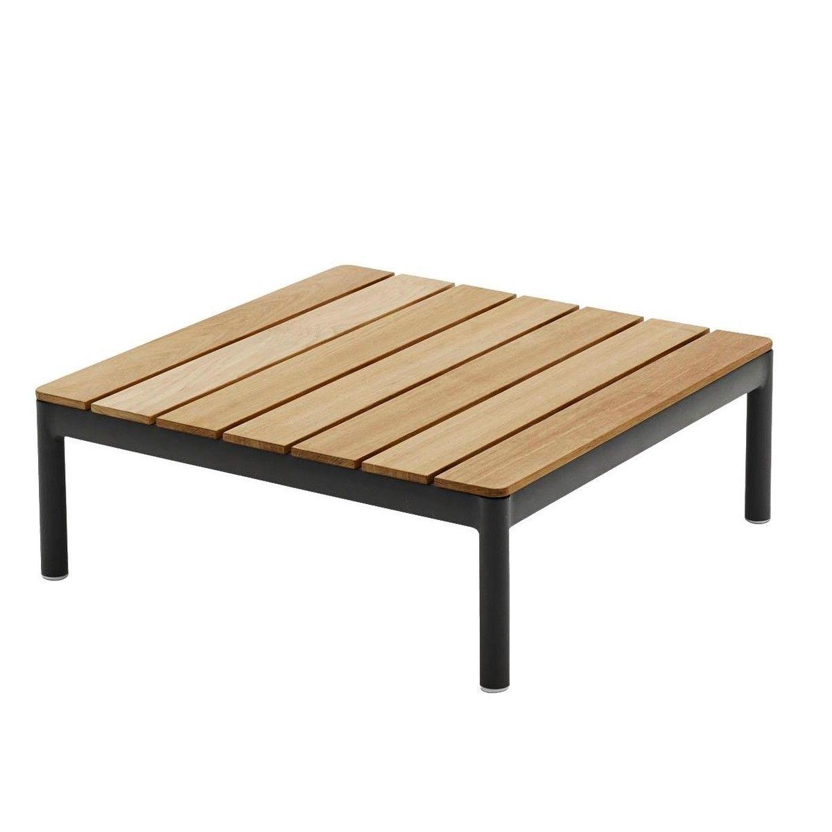 Faszinierend Loungetisch Dekoration Von Skagerak - Tradition Lounge Tisch - Teak/75x75x27cm
