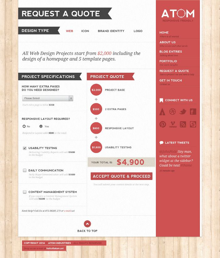 DesignStudioTemplate  Design Inspiration    Template