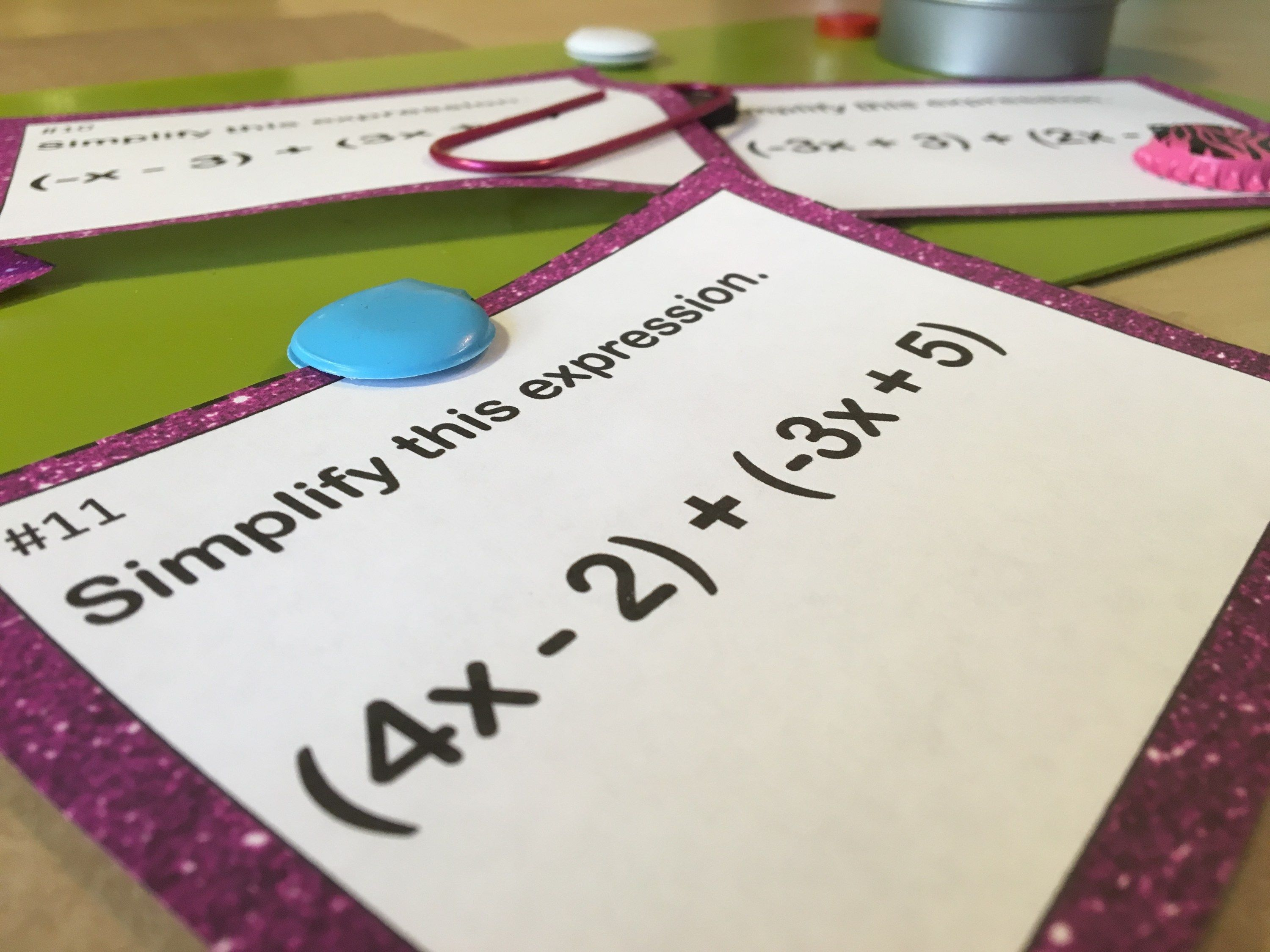 Math Review Game Strategy That Works Pick A Card