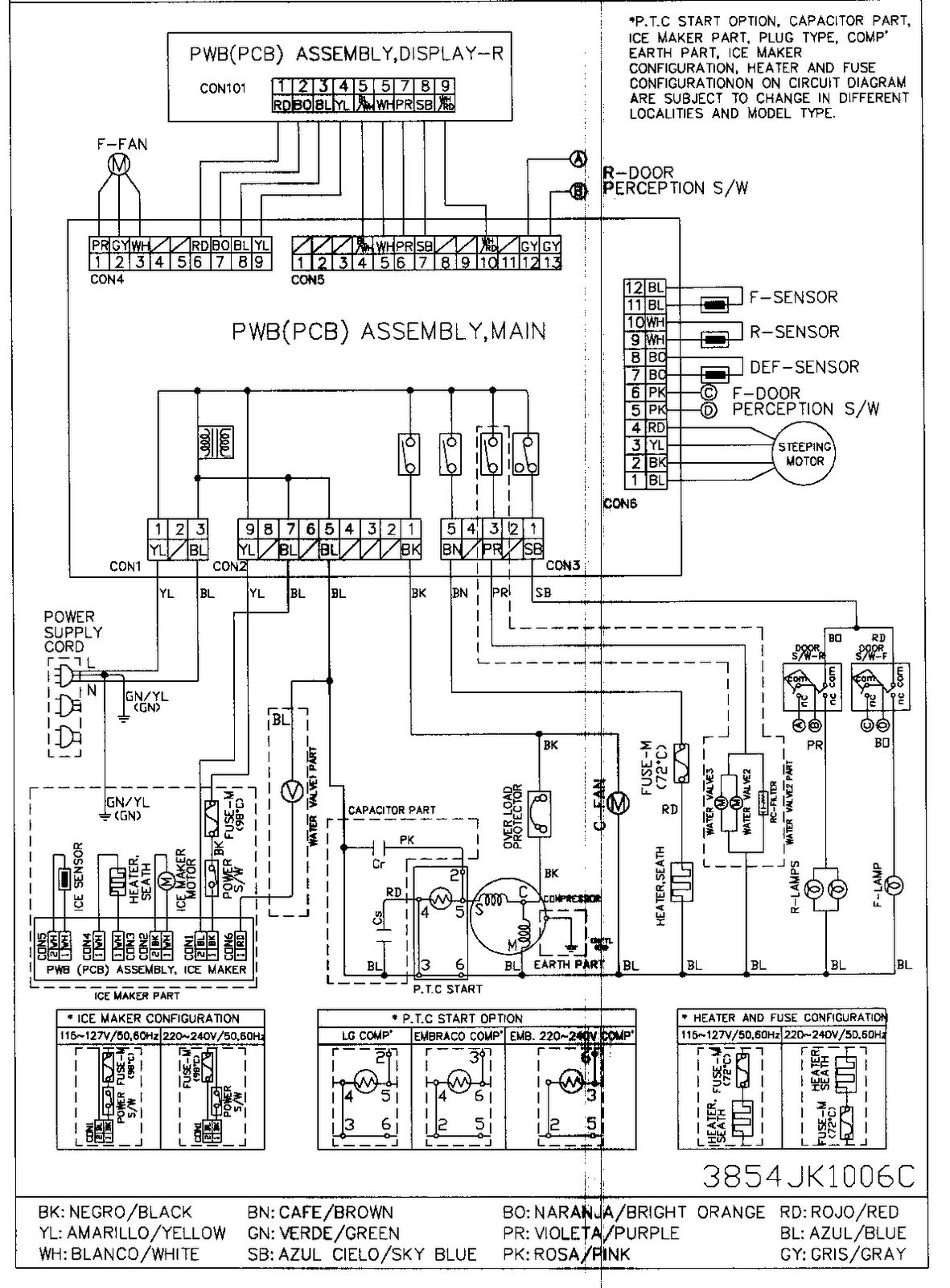 f936dd73a03b5e8477eb4916671b9ae2 godrej double door refrigerator wiring diagram refrigerator wiring diagram at aneh.co