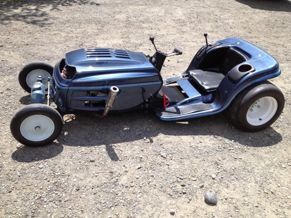 Custom Racing Tractors : Racing mower number two cars i like pinterest