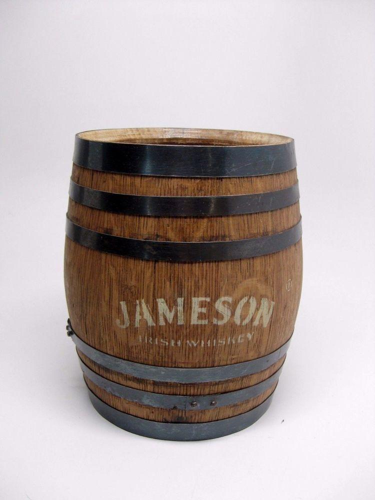 Details About Rare Vintage Jameson Irish Whiskey 75 Mini Wooden