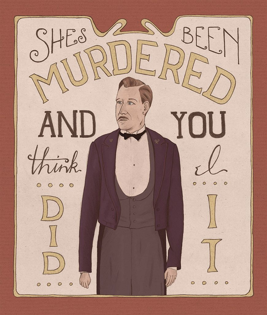 Grand Budapest Hotel Quotes The Grand Budapest Hotel Illustrationkaren Murray  Akaihane
