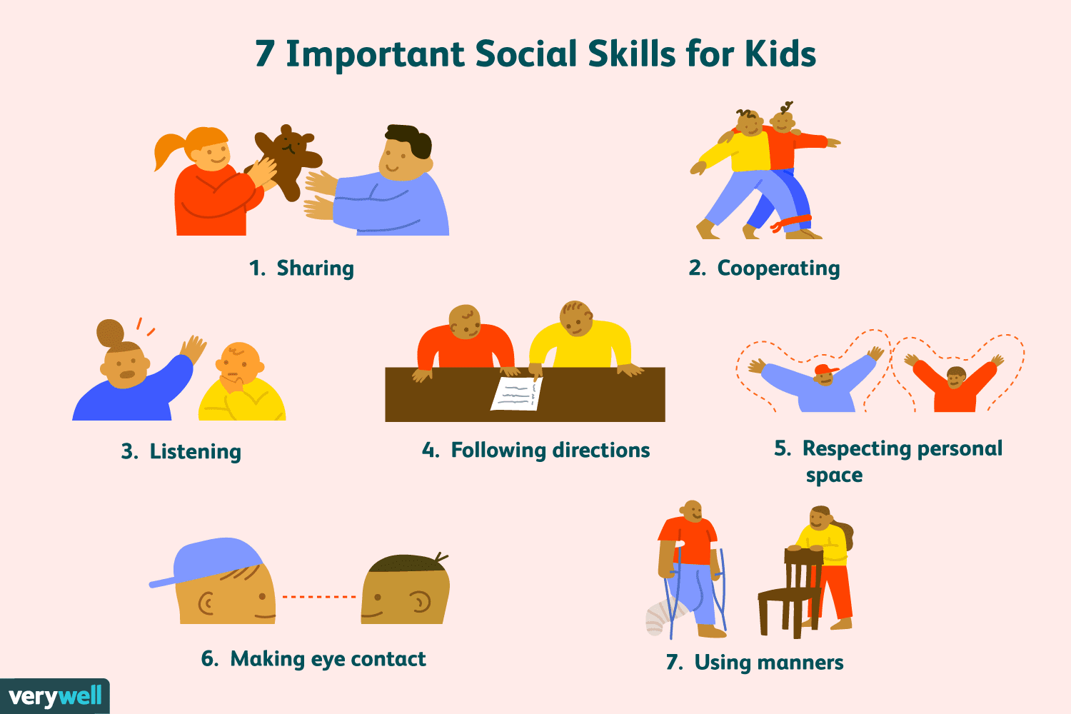 7 Most Important Social Skills For Kids