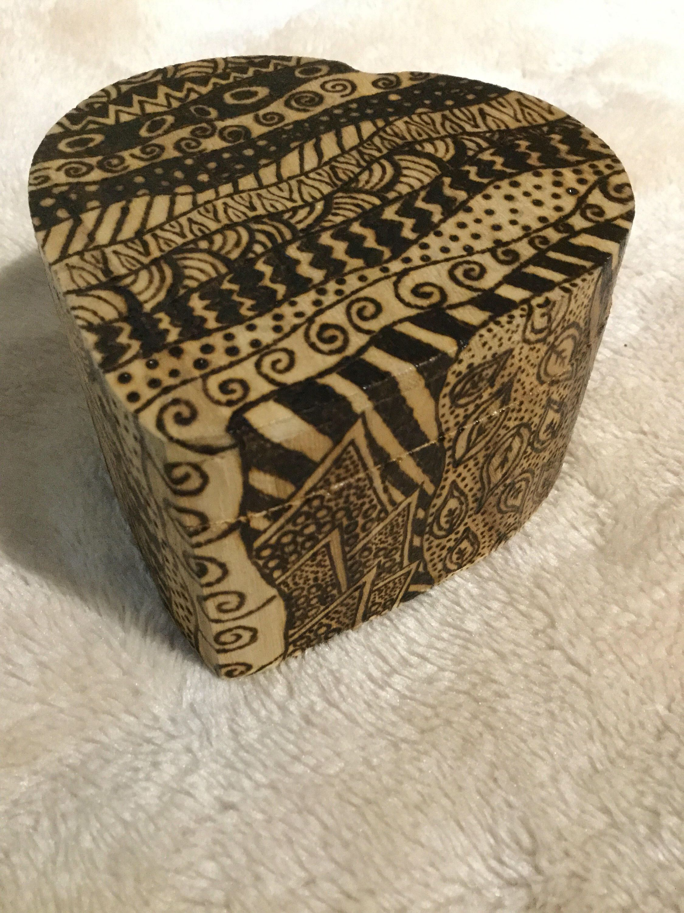 A personal favourite from my Etsy shop https://www.etsy.com/uk/listing/522137142/wooden-heart-shaped-jewellery-box