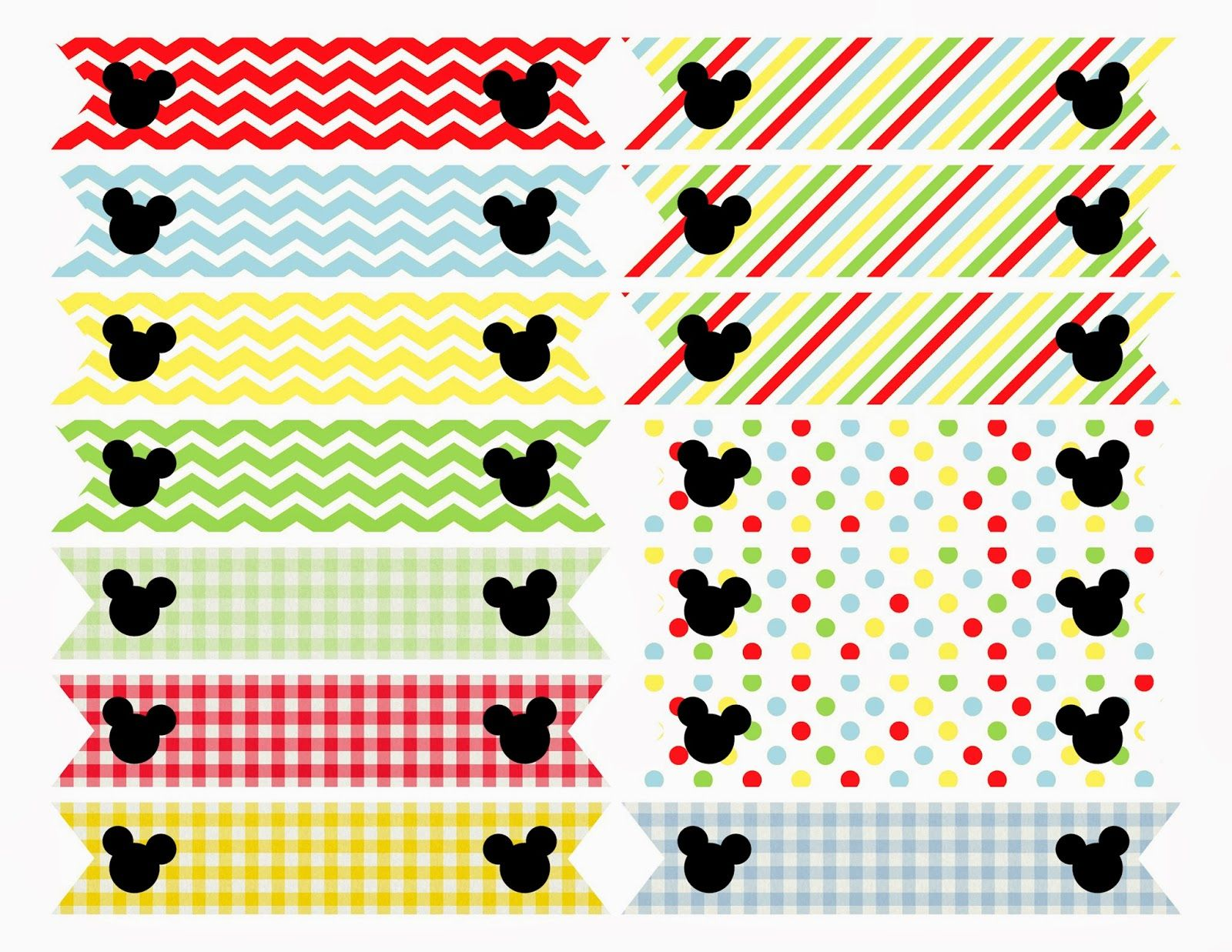 best images about mickey mouse birthday printables printable mickey mouse clubhouse inspired straw flags