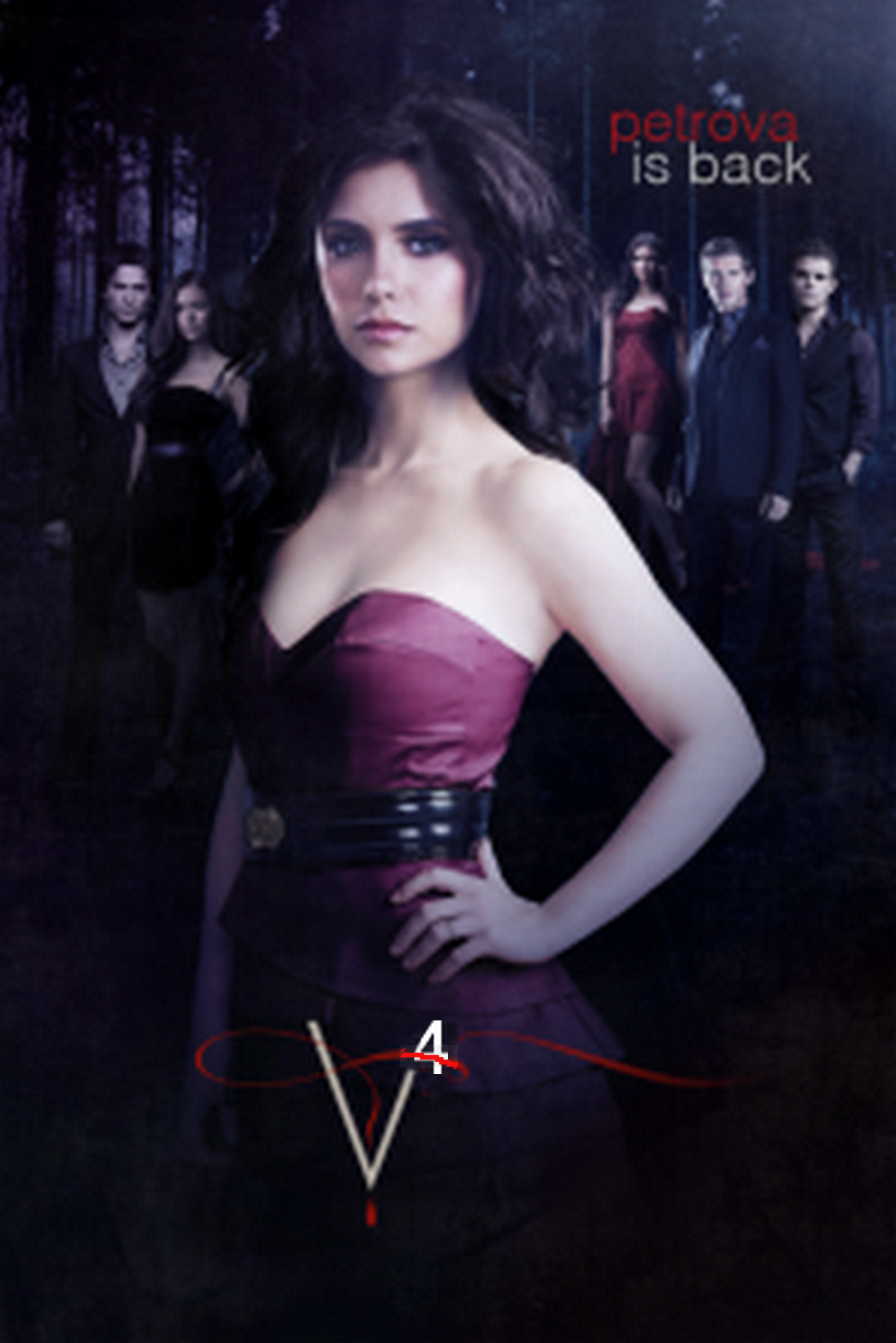 the vampire diaries season 1 posters | Image - TVDS4.png ...