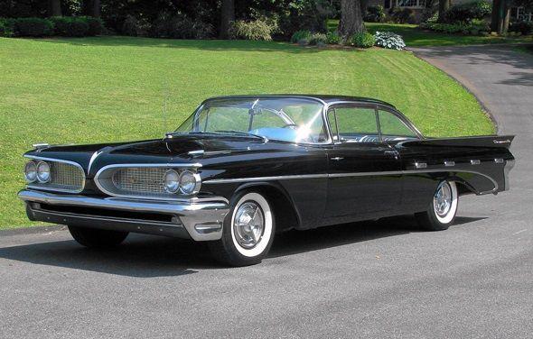 54K Miles: Original Paint 1959 Pontiac Bonneville
