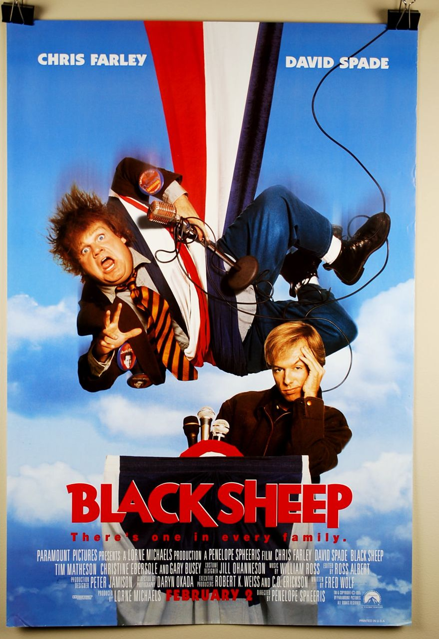 """Black Sheep 1996 """"From the Bluesky and clouds loving"""