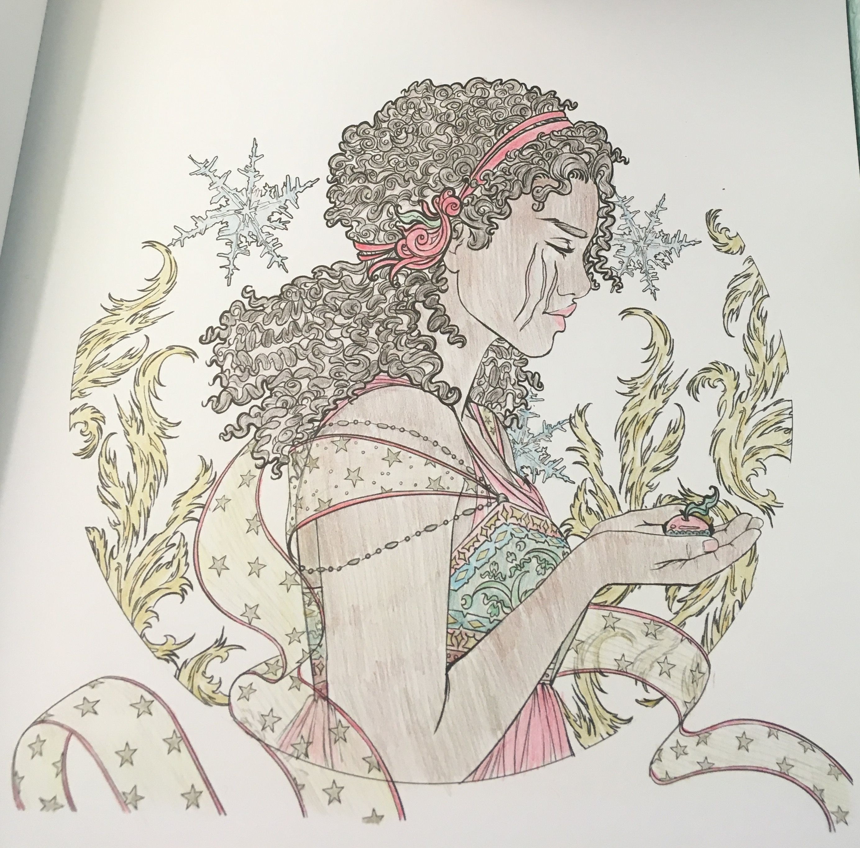 Winter From The Lunar Chronicles Coloring Book Once Upon A Time