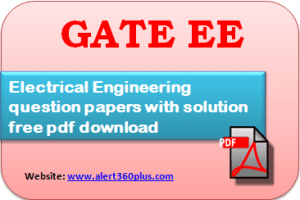 Gate Ee Question Papers With Solution 2017 In 2020 Question Paper This Or That Questions Electrical Engineering