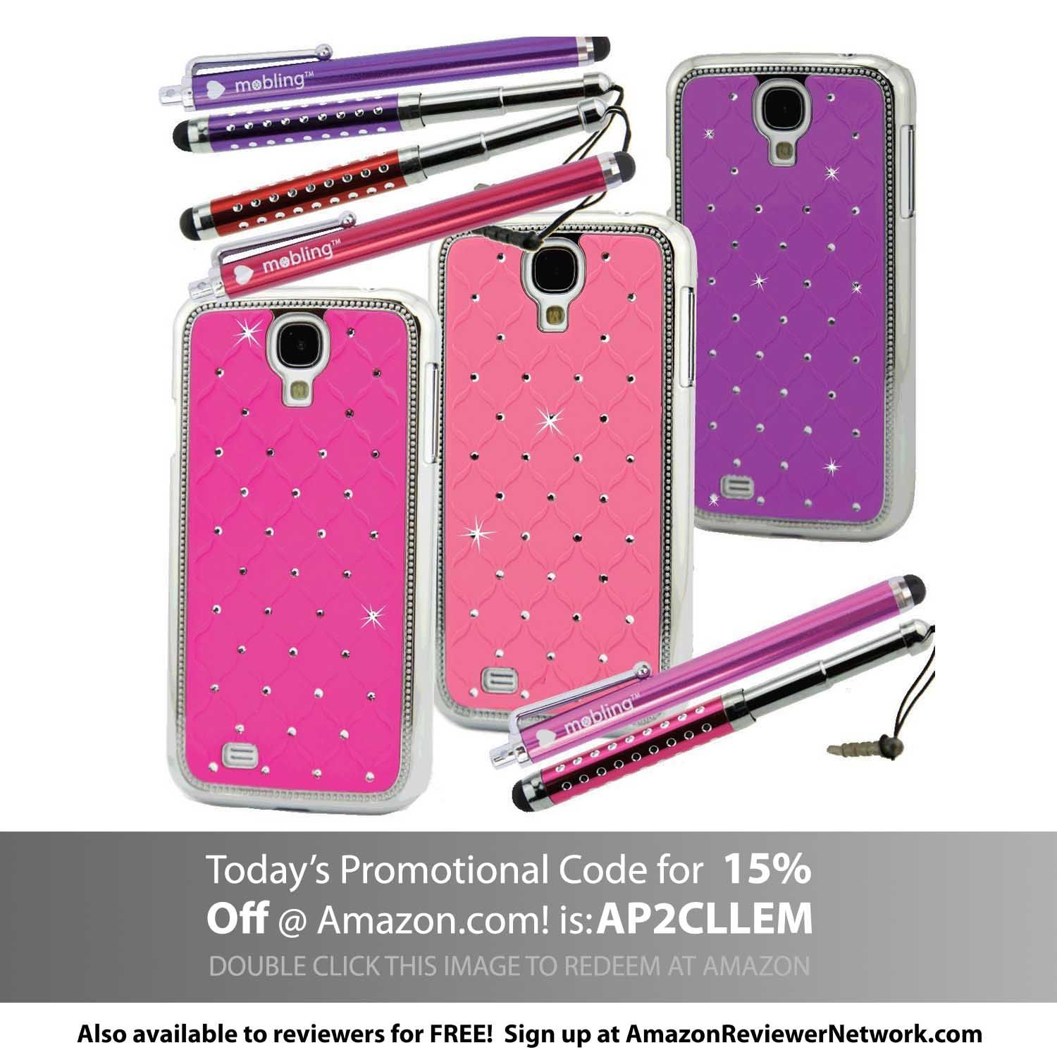 Designer ChromeBling Cases with ExtendaBling and Lovin