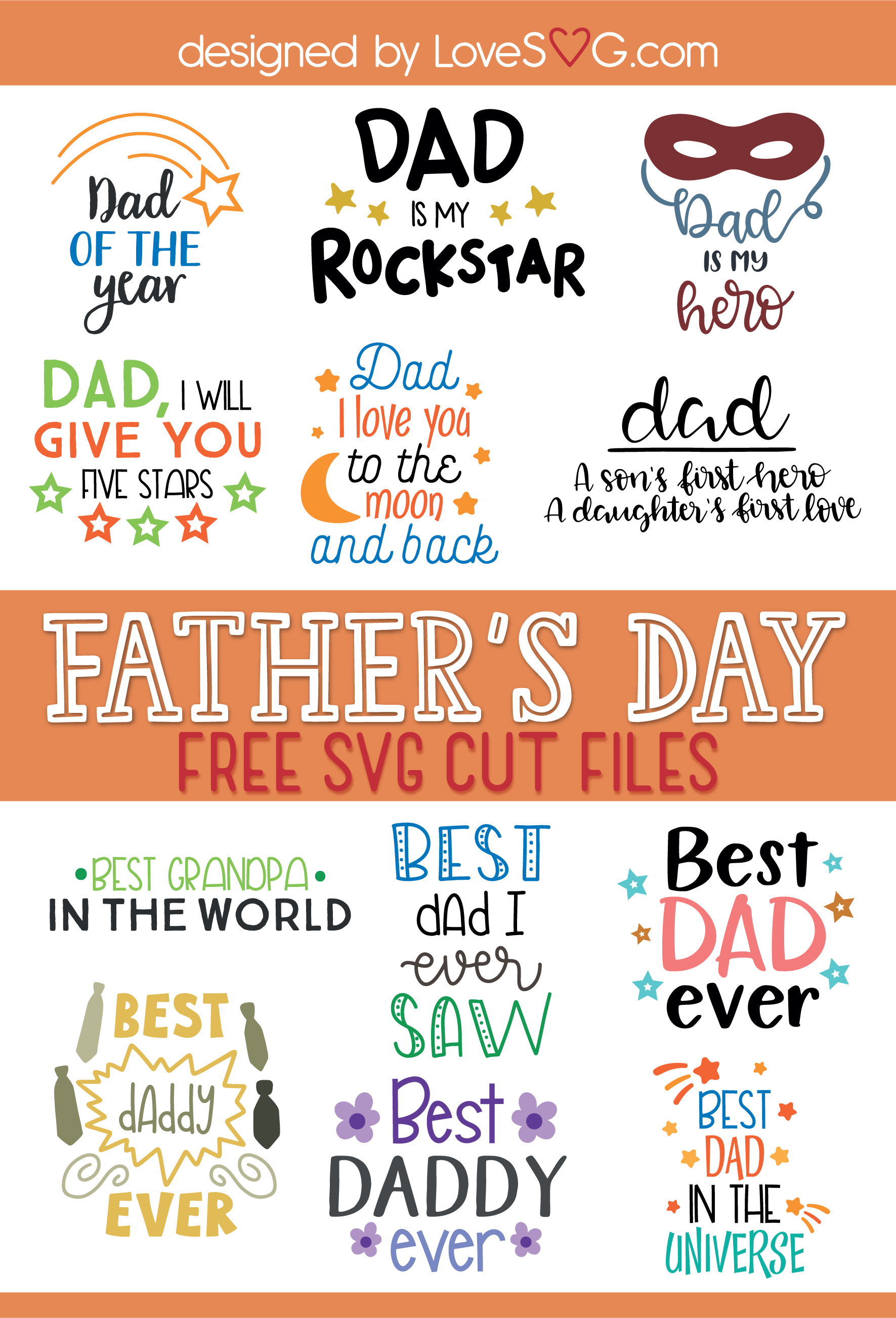 All the svg designs come with a free commercial license for small businesses to make physical end products. Father S Day Lovesvg Com Fathers Day Svg Free Fathers Day Svg Files Cricut Projects Beginner
