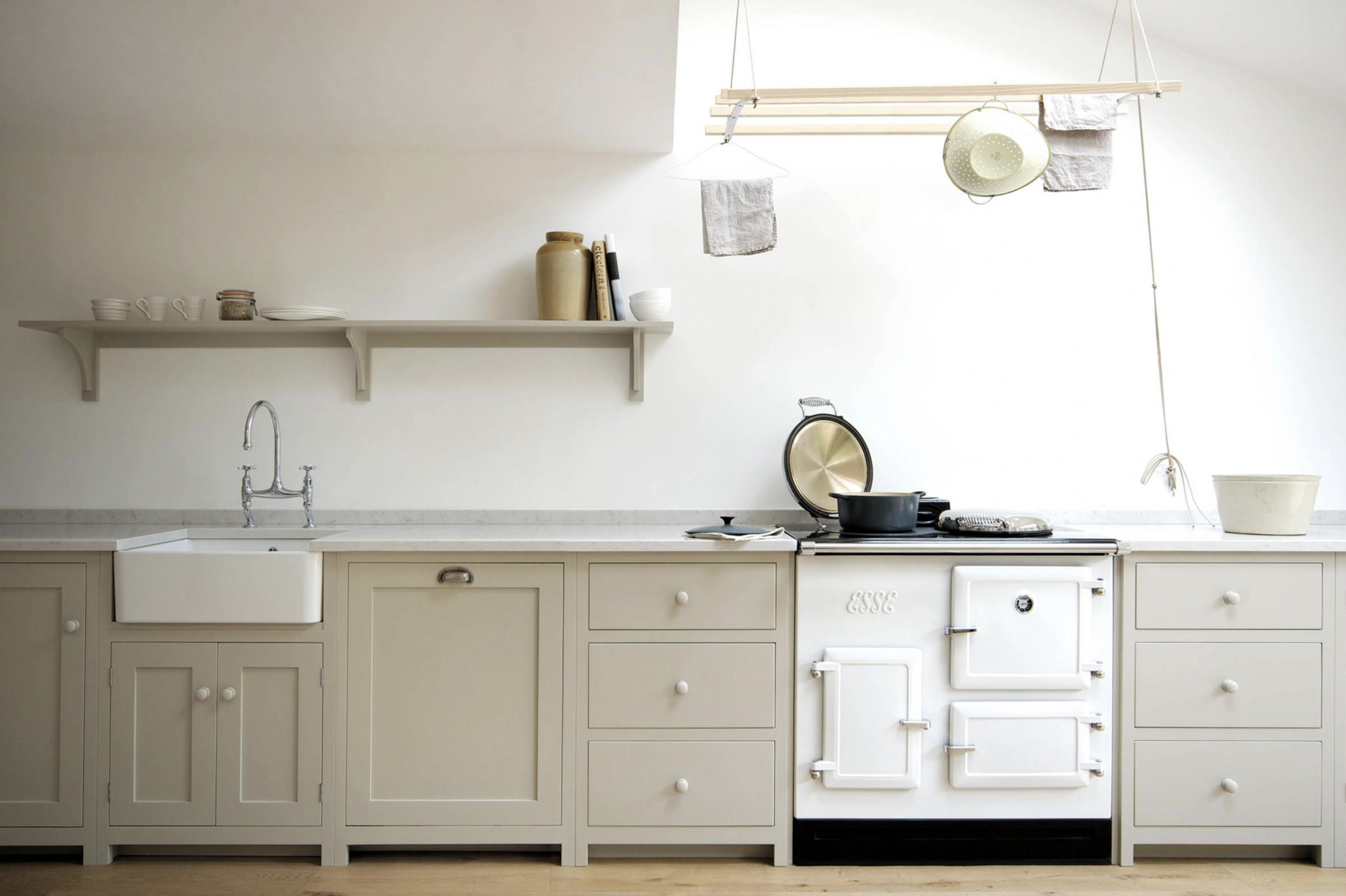 The Best Mushroom Paint Colors For Your Kitchen The Identite Collective In 2020 Devol Kitchens Taupe Kitchen Cabinets Taupe Kitchen