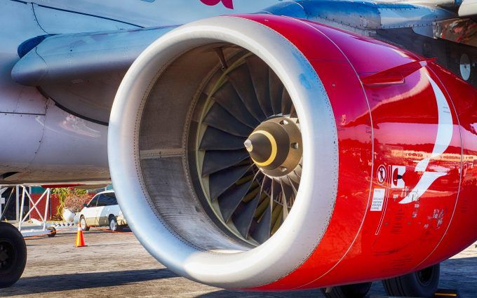 Airplane Engine Wallpaper 4K 5K