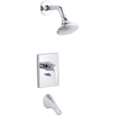 Kohler Symbol Rite Temp Pressure Balancing Bath And Shower Faucet