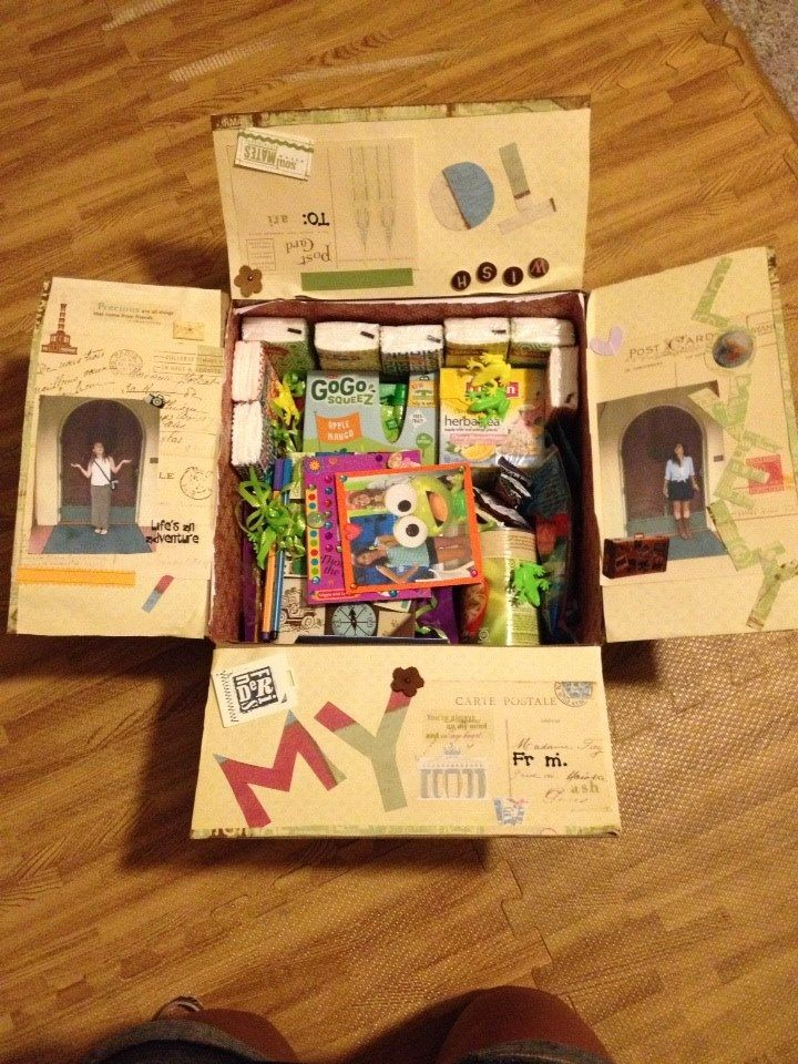 Best Friend Care Package Travel Theme Care Package