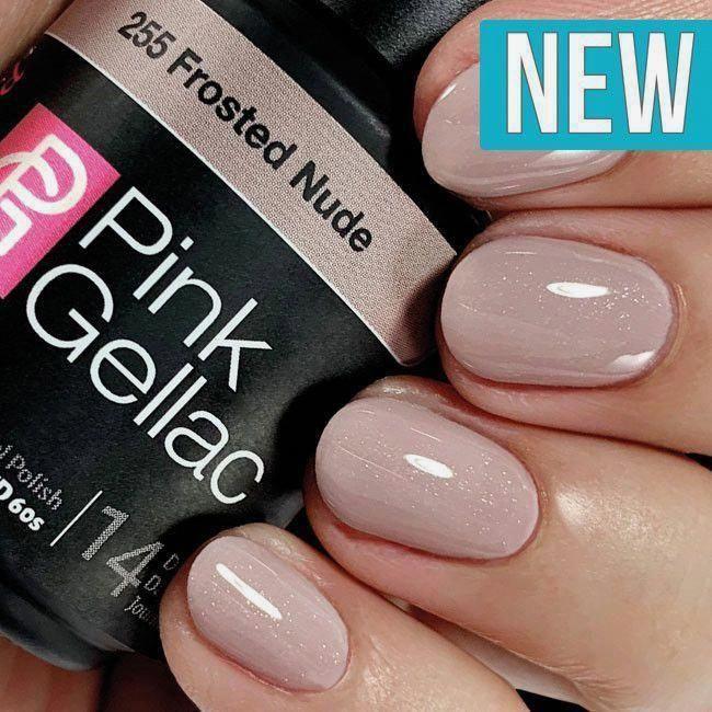Pink Gellac 139 Natural Taupe Gel-Nagellack via pinkgellac