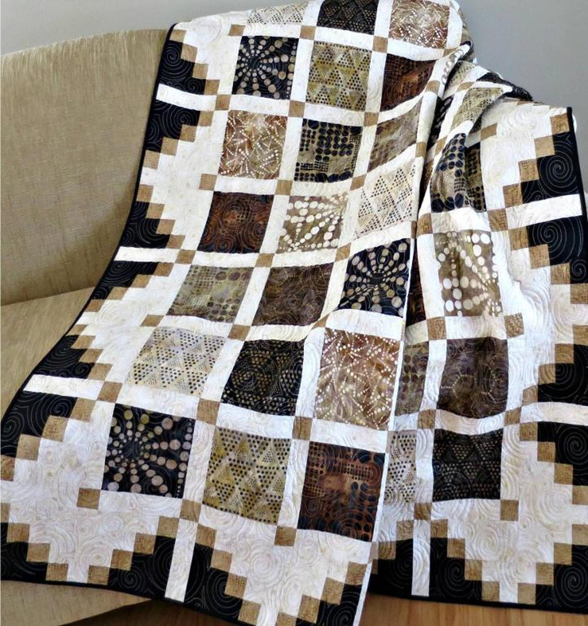 444 Simply Cool Quilt Pattern PDF | Pdf, Patterns and Free motion ...