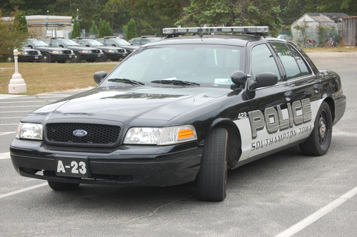 Southampton Town Police, Long Island, New York - Ford Crown Vic Police car