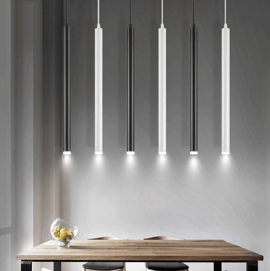 Stem Slim Led Pendant Light Hanging Lights Kitchen Pendant Lamp Kitchen Lamps