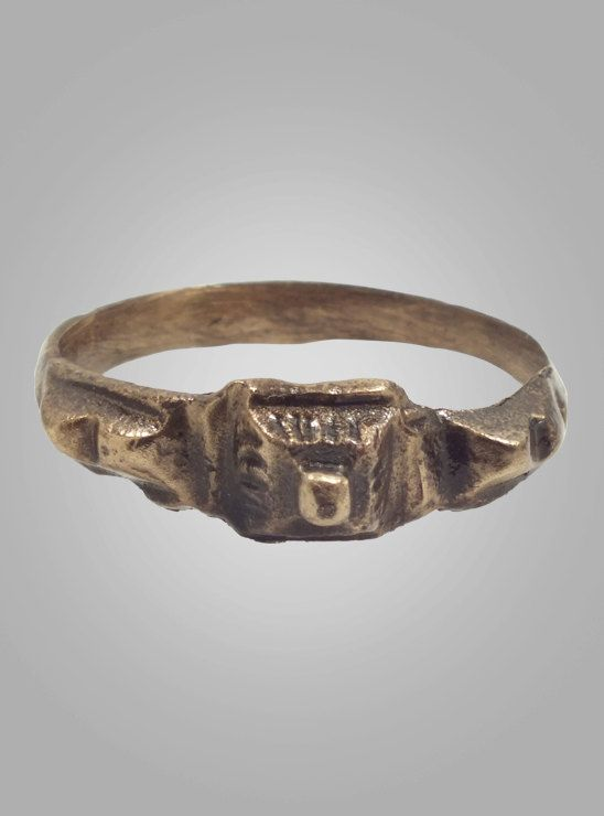 Medieval Mans  Ring C.13th15th Century Size 9 by AncientAdornment, $170.00