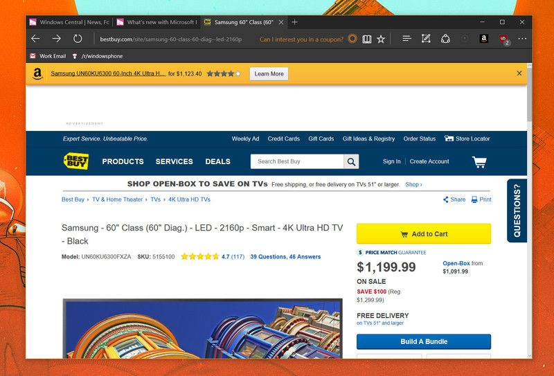 How To Find New Microsoft Edge Extensions Microsoft Windows 10 Cool Things To Buy