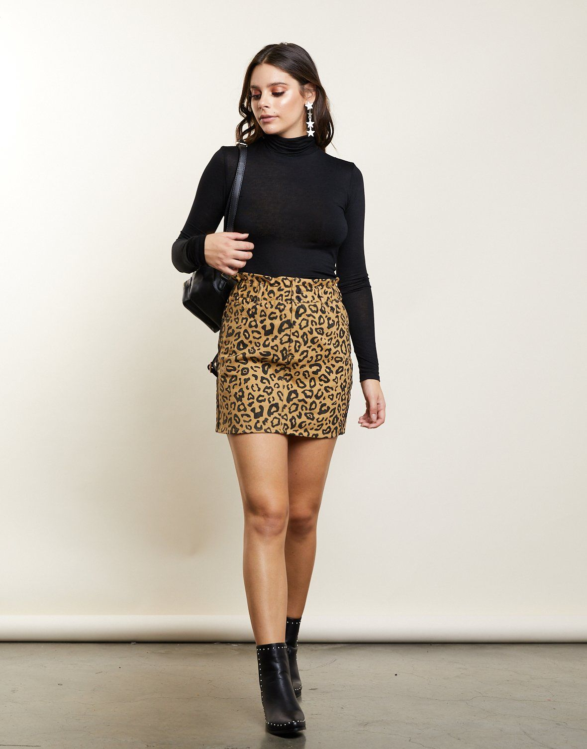 256d332114a2 Wild For You Mini Skirt
