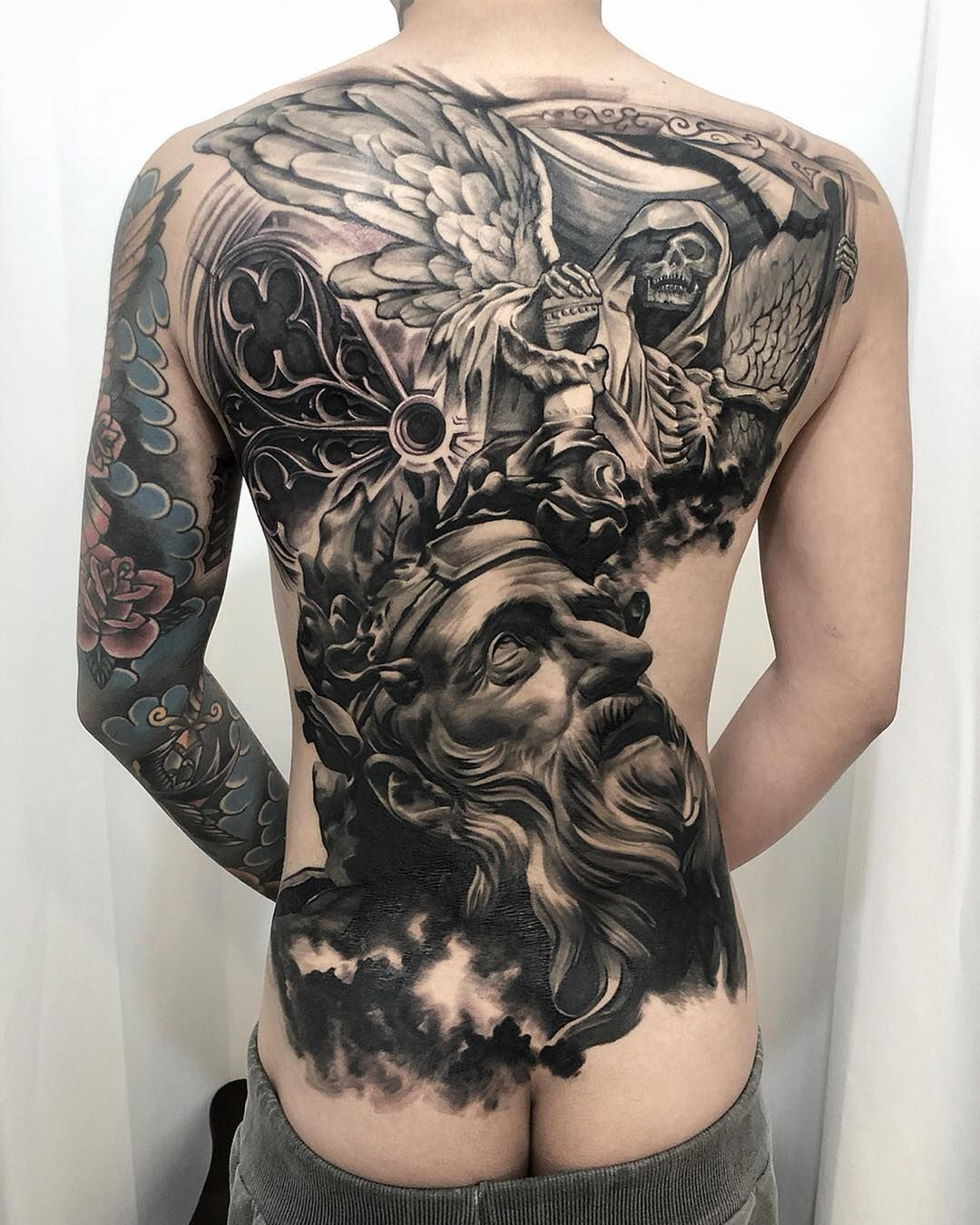 Tattoos in 2020 Cool chest tattoos, Chest tattoo men