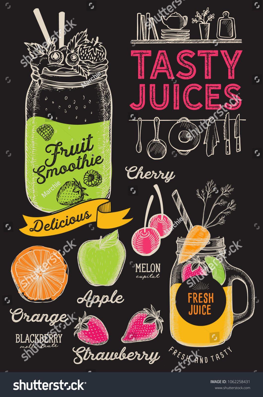 Menu Sip Juice Cart Juice Bar Menu Juice Bar Juice Menu
