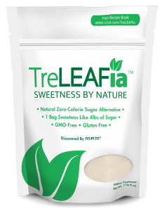 Do you know what is in your sweetener?  It is the first of its generation of newly concentrated 100% natural sugar replacers that forgo the addition of bulking agents and frown upon chemical processing. #sugar #recipe #bakehealthy