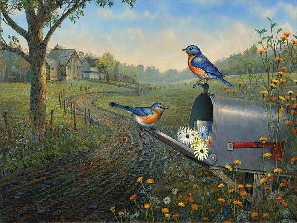 Sam Timm | Country art, Wildlife art, Art