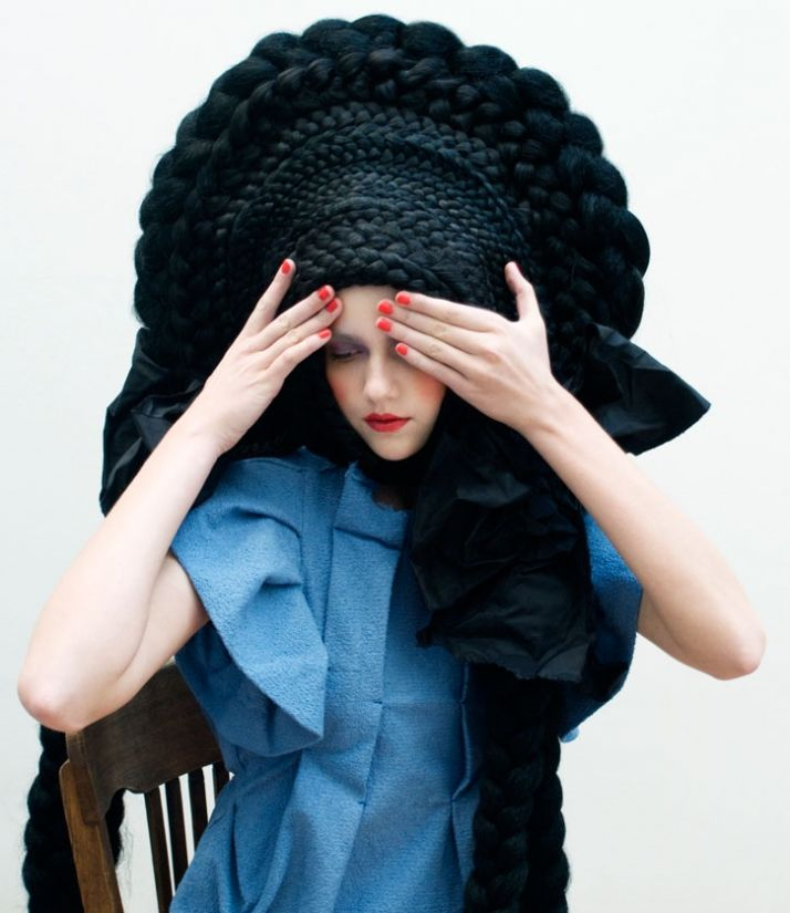 Crazy Hair Culdesac And Studio Marisol Yatzer Idees De Coiffures Cheveux Fous Inspiration Cheveux