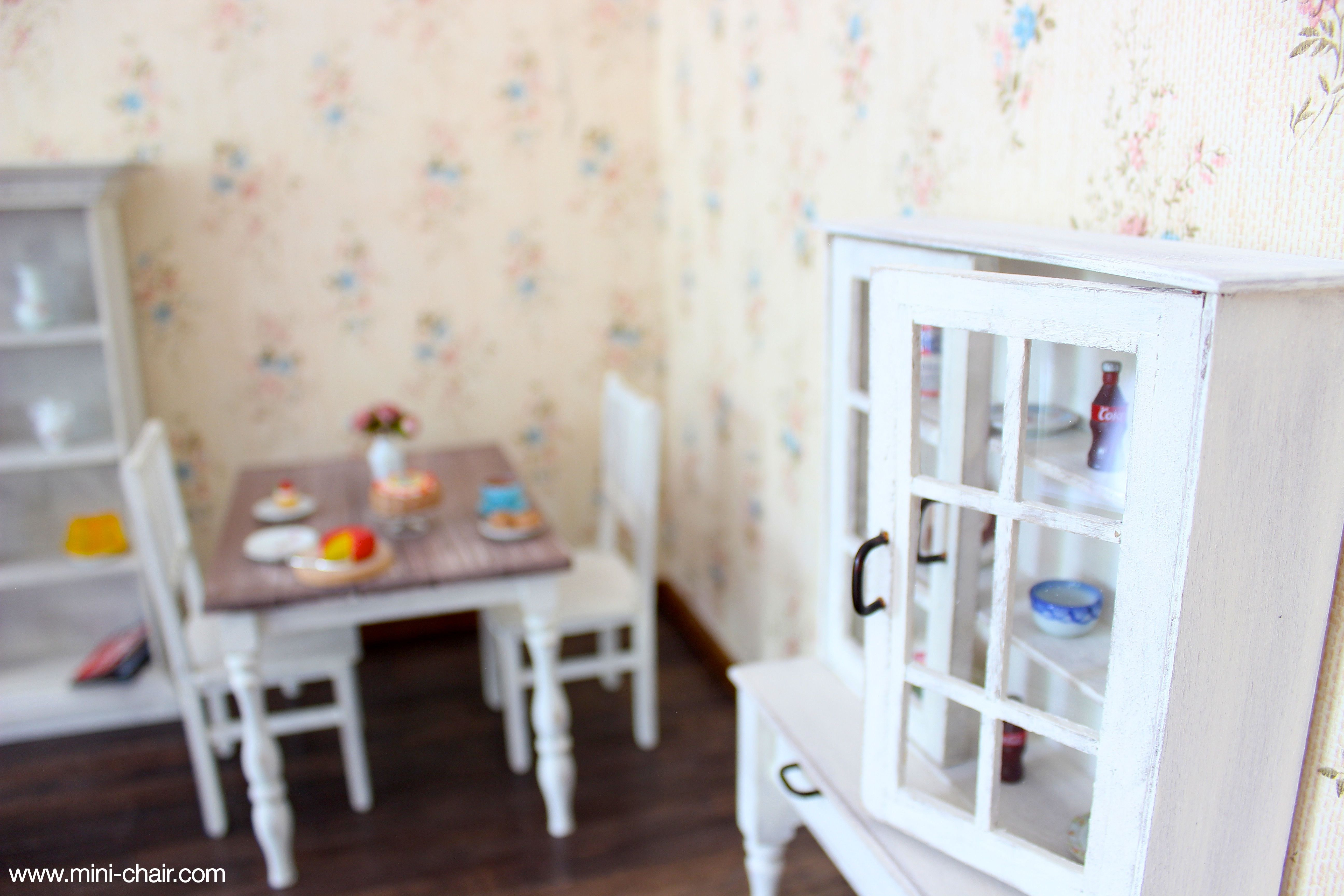 cupboard lavender from house cottages antique paintedfurniture cottage painted pin vintage