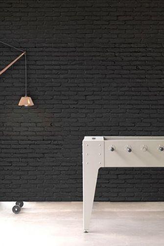 Best Phm 33 Black Brick Wallpaper By Piet Hein Eek Black 400 x 300
