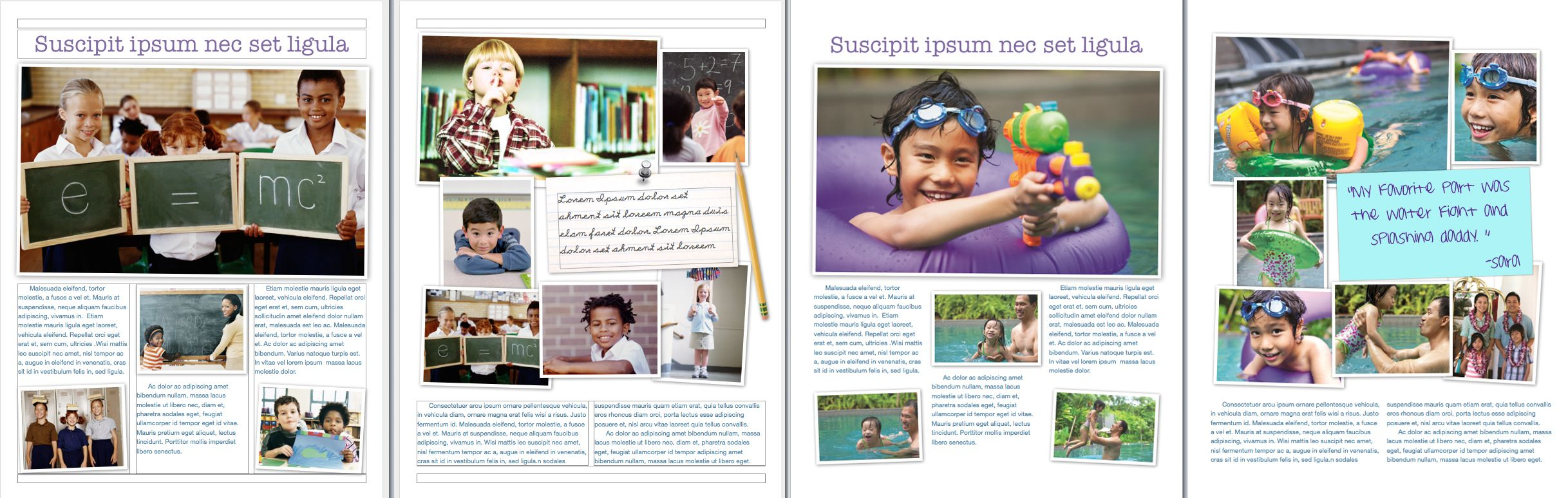 Publisher Magazine Layout Templates  Microsoft Word Also Has Some