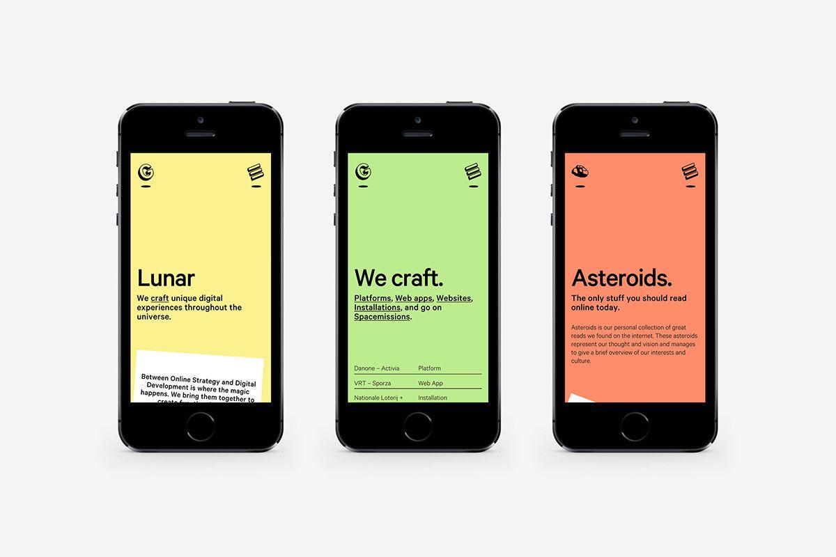 Lunar Gravity - Website Design & Development on Behance