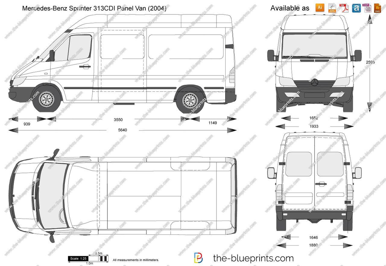 Mercedes Sprinter Box Van Dimensions 3