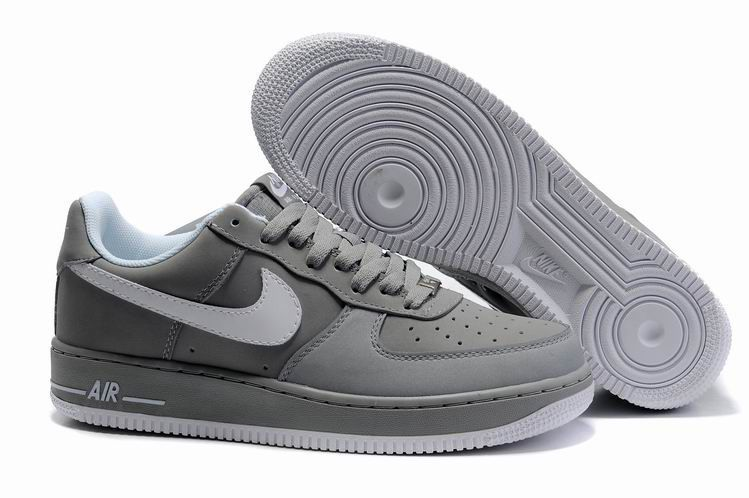 quality design aa898 5c090 Nike Air Force 1 Bajo Hombre Extreme Gris Blanco http   www.