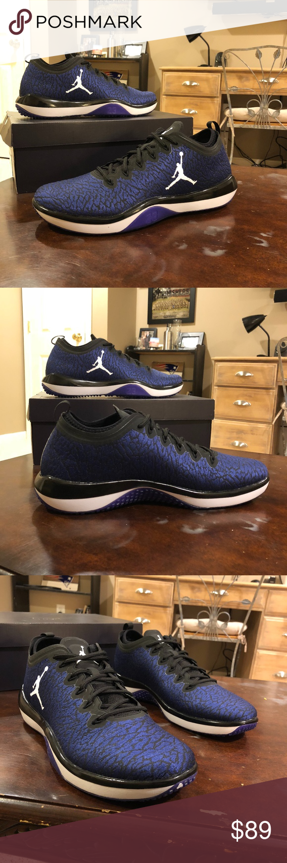 7561f63038a Jordan Trainer 1 Low Brand New In Box Jordan Trainer 1 Low Black White-Concord  845403-003 Multiple Sizes Available Retails For  120.00 Comes in Black  Jordan ...
