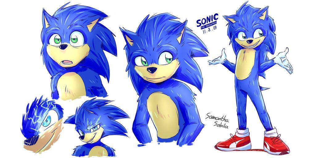 Sonic Movie By Https Www Deviantart Com Sonicspeedz On