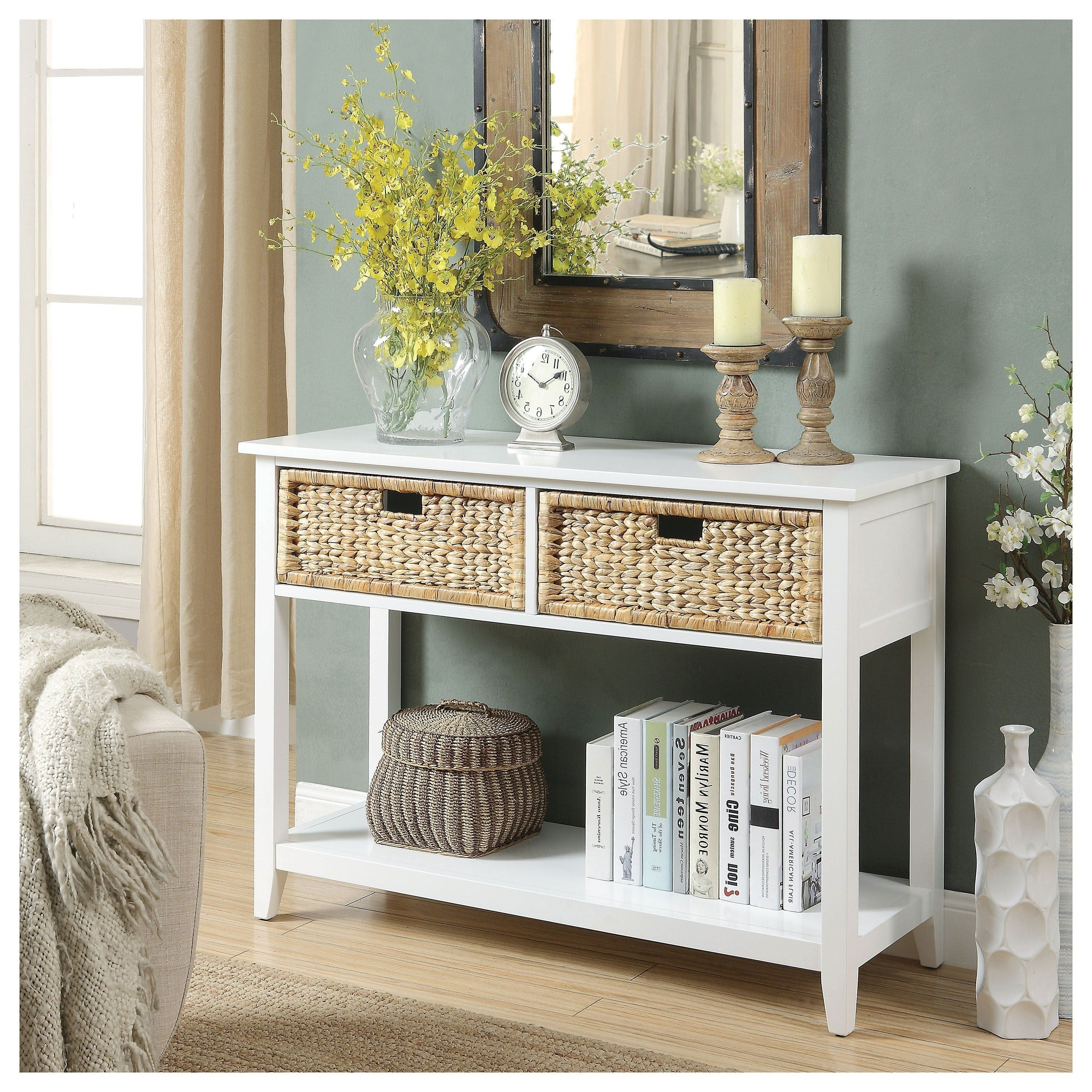 50 Inspiring Console Table Ideas Homyhomee Entryway Console Table Console Table Design Console Table Decorating