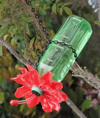 Bebedero para colibr tutorial aves bebederos y for Bebederos para aves jardin