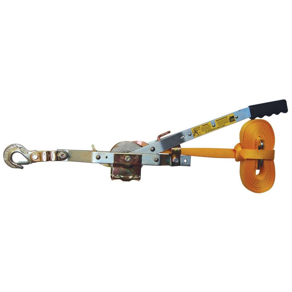 Maasdam Pow'R Pull 2,000 lb. 25 ft. Web Strap Puller Model # WS-25 SKU# 789661