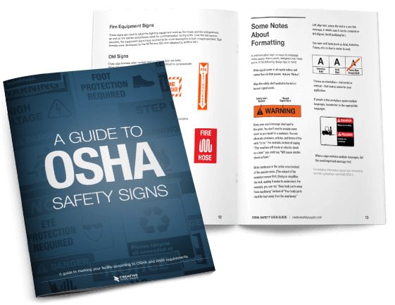 A guide to OSHA safety signs free guide Osha, Safety
