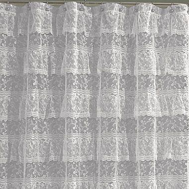 Jcp Priscilla Shower Curtain Curtains