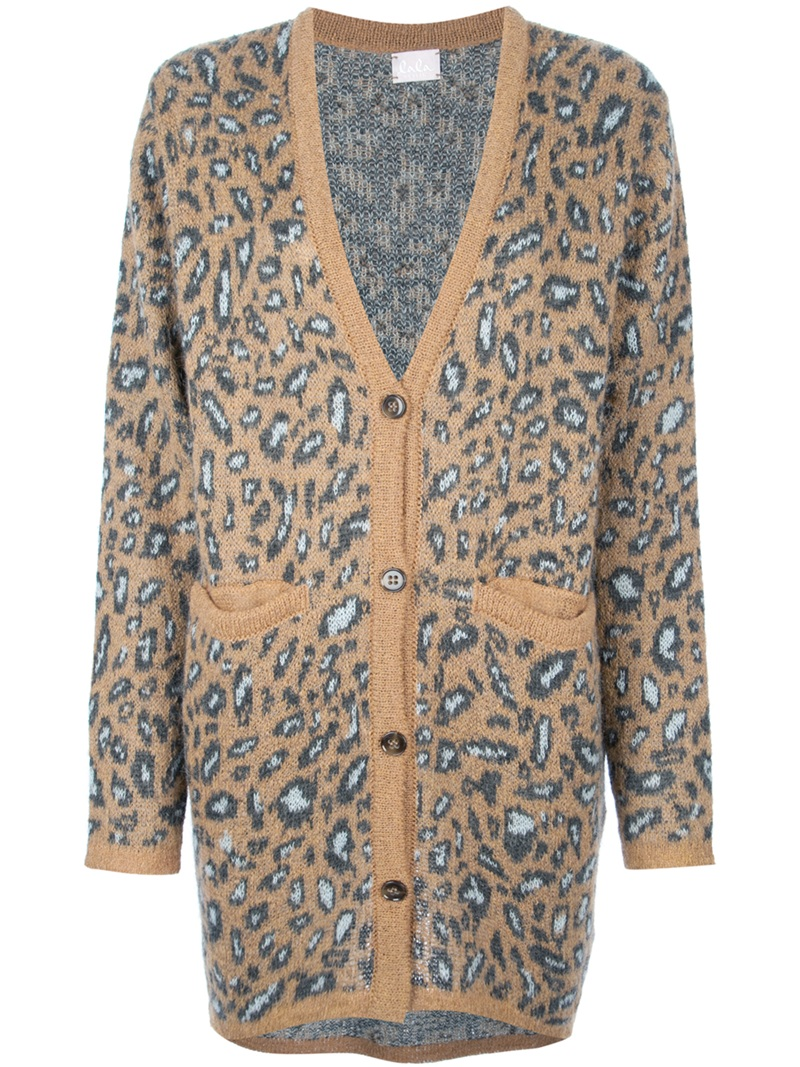 Desmond' leopard print cardigan | Women's Tops & Tees | Pinterest ...