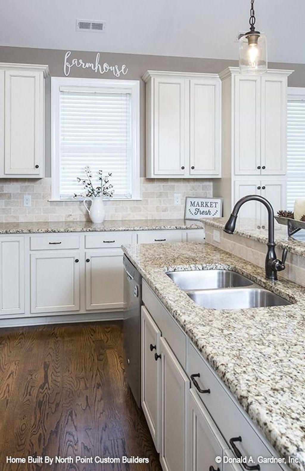 30+ Elegant Kitchens Design Décor Ideas #kitchenremodelideas
