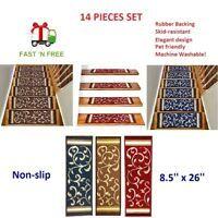Best Details About 14 Pcs Non Slip Quality Carpet Stair 400 x 300